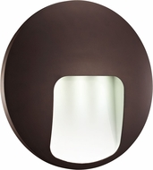 Trans Globe LED-40980-BZ Oasis Contemporary Bronze LED Outdoor Wall Light Sconce