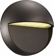 Trans Globe LED-50000-BZ Galaxy Contemporary Bronze LED Outdoor Wall Light Sconce