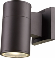 Trans Globe LED-50020-BZ Compact Contemporary Bronze LED Outdoor Wall Sconce