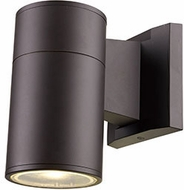 Trans Globe LED-50020-BZ Compact Modern Bronze LED Outdoor 4.25 Wall Light Sconce