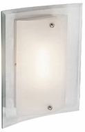 Trans Globe MDN-1027 Miami Modern Polished Chrome Fluorescent Wall Sconce Lighting