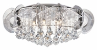 Trans Globe MDN-1123 Large Halogen 24 Inch Diameter Ceiling Lighting Fixture