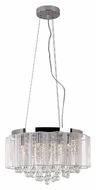 Trans Globe MDN-1139 17 Inch Diameter Polished Chrome Drop Ceiling Lighting