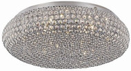 Trans Globe MDN-1222 Monarch Contemporary Polished Chrome Halogen 20 Ceiling Lighting Fixture
