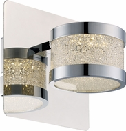 Trans Globe MDN-1385 Devonshire Polished Chrome LED Lighting Sconce