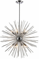 Trans Globe MDN-1453-PC Collina Modern Polished Chrome 29  Hanging Lamp