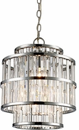 Trans Globe MDN-1456 Dapper Contemporary Polished Chrome 12  Hanging Light
