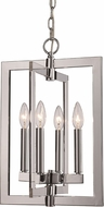 Trans Globe MDN-1478 Darby Modern Polished Chrome 12 Entryway Light Fixture