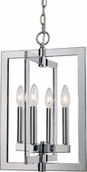 Trans Globe MDN-1478 Darby Contemporary Polished Chrome 12  Foyer Lighting