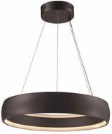 Trans Globe MDN-1559-BK Contemporary Black LED 23  Pendant Light