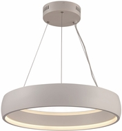 Trans Globe MDN-1559-WH Modern White LED 23  Lighting Pendant