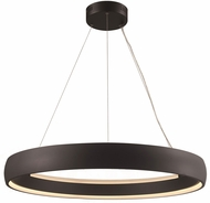 Trans Globe MDN-1560-BK Contemporary Black LED 35.5  Pendant Lamp