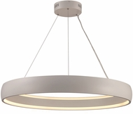 Trans Globe MDN-1560-WH Contemporary White LED 35.5  Hanging Lamp