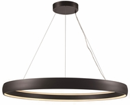 Trans Globe MDN-1561-BK Contemporary Black LED 53.5  Hanging Light