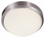 Trans Globe PL-13882 BN Large 3 Lamp 15 Inch Wide Overhead Lighting - Brushed Nickel