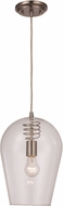 Trans Globe PND-2078-BN Contemporary Brushed Nickel Mini Hanging Light Fixture