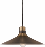 Trans Globe PND-2083-AG-BK Link Contemporary Antique Gold/Black Pendant Lamp