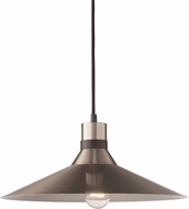 Trans Globe PND-2083-BN-BK Link Contemporary Brushed Nickel/Black Hanging Lamp