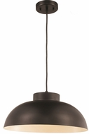 Trans Globe PND-2116-MB Jax Modern Matte Black 16.5  Drop Ceiling Lighting