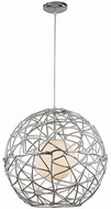 Trans Globe PND-968 Space Contemporary Polished Chrome 20  Pendant Light
