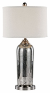 Trans Globe RTL-8780 Silver Mercury Glass 30 Inch Tall Transitional Table Lamp