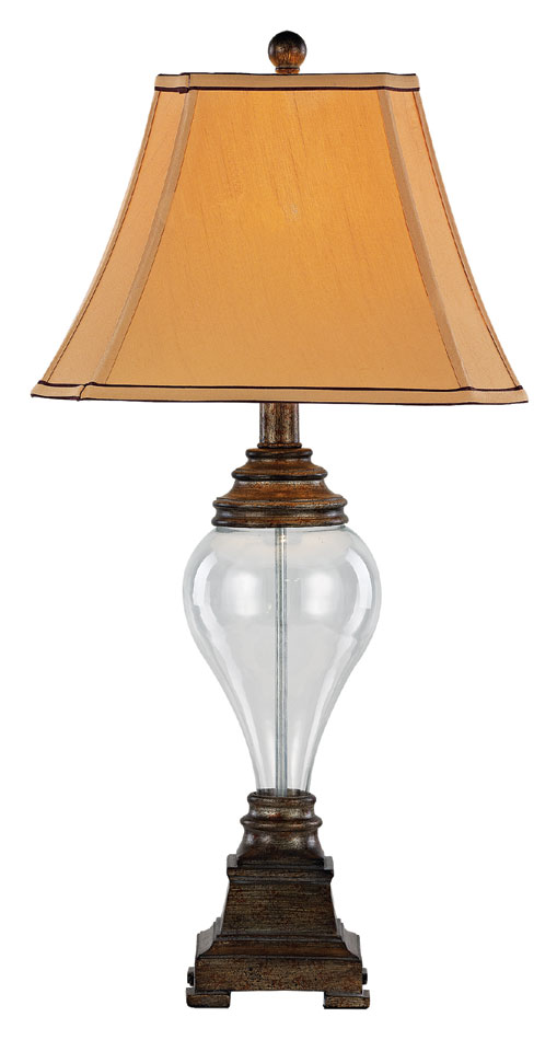 Trans Globe Rtl 8789 Traditional Clear Gl 30 Inch Tall Living Room Table Lamp Loading Zoom