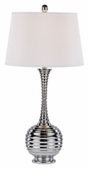 Trans Globe RTL-8791 Contemporary 32 Inch Tall Polished Chrome Table Light