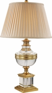Trans Globe RTL-8813 Solid Antique Brass Table Light
