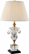 Trans Globe RTL-8815 Solid Antique Brass Lighting Table Lamp
