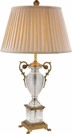 Trans Globe RTL-8816 Solid Antique Brass Table Lamp Lighting