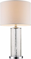 Trans Globe RTL-8930-PC Tami Contemporary Polished Chrome Side Table Lamp