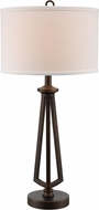 Trans Globe RTL-8934 Morphosis Antique Brass Table Lamp Lighting