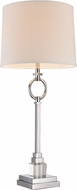 Trans Globe RTL-8936 Lauderdale Polished Chrome Side Table Lamp