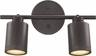 Trans Globe W-932-ROB Holdrege Contemporary Rubbed Oil Bronze LED 2-Light Track Lighting