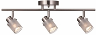 Trans Globe W-953-BN Modern Brushed Nickel Track Lighting