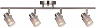 Trans Globe W-954-BN Modern Brushed Nickel Track Light