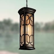 Transitional Outdoor Hanging Lights