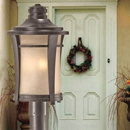 Transitional Outdoor Post Lights