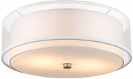 Trend BP7158 Brella Contemporary Brushed Nickel Ceiling Light
