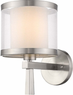 Trend BW8947 Lux Contemporary Brushed Nickel Wall Lamp