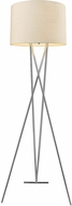 Trend TF5685-26 Triton Contemporary Polished Chrome Floor Lamp Light