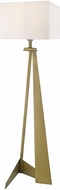 Trend TF70011AB Stratos Contemporary Aged Brass Lighting Floor Lamp