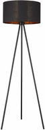 Trend TF70095BK Morenci Contemporary Matte Black Lighting Floor Lamp