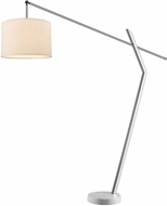 Trend TFA9900 Chelsea Contemporary Polished Chrome Floor Lamp Lighting