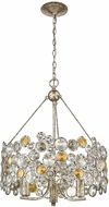 Trend TP10001ASL Vitozzi Antique Silver Leaf Mini Chandelier Light