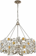 Trend TP10002ASL Vitozzi Antique Silver Leaf Chandelier Lighting