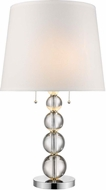Trend TT5800 Palla Polished Chrome 16 Table Top Lamp