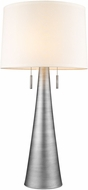 Trend TT7233-66 Muse Modern Hand Painted Weathered Pewter Table Light
