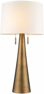 Trend TT7233-76 Muse Modern Hand Painted Antique Gold Table Lighting