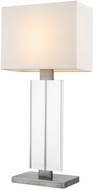 Trend TT7702-66 Shine Contemporary Hand Painted Weathered Pewter Table Top Lamp